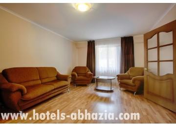 Отель Абаата 2-местный 2-комнатный люкс корп.1