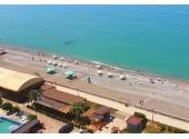 Гранд-отель «Абхазия», пляж
