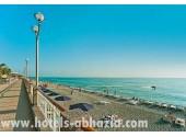 Отель «Alex Beach Hotel», пляж, набережная