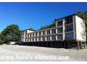 Отель «Белые скалы», территория, внешний вид