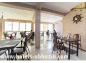 Отель «Белые скалы», столовая