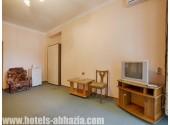 Курортный комплекс «Гагрипш», 2-местный 2-комнатный номер с видом на море