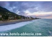 Отель «Grand Hotel Gagra» ,море, пляж