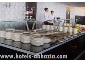 Отель «Жоэквара»,  ресторан , шведский стол