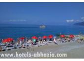 Отель «Жоэквара»,  пляж