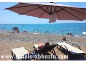 Отель «Гранд Афон»,   собственный пляж