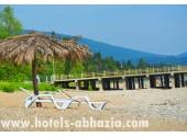 Гостиница «Грифон»,   пляж