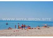 База отдыха «Мия»,   пляж