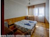 Пансионат «Мюссера» (им. Лакоба), 2-местный 2-комнатный люкс с видом на море