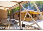 Отель  «Родина» , Новый Афон | Внешний вид, территория