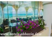 Отель «Вилла Виктория» кафе на пляже