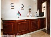 Отель «Вилла Виктория», ресепшен