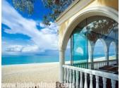 Отель «Вилла Виктория», пляж