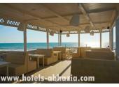 Отель «Paradise Beach» /«Парадайз Бич»,   летняя терраса
