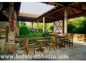 Пансионат «Самшитовая роща», летнее кафе на территории