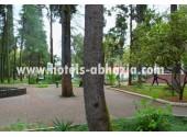 Парковая территория  пансионат «Айтар»
