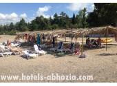 Парк-отель «Гора царя Баграта», пляж