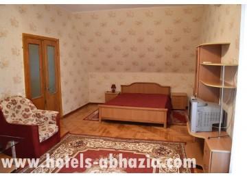 Санаторий «МВО Сухум» 2х-местный, 2х-комнатный «люкс» вид на море корп.Генеральский