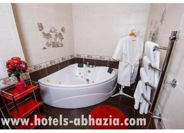Люкс 2-местный 2-комнатный | отель Олимп Абхазия
