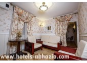 Отель «Олимп», Люкс 2-местный 2-комнатный с джакузи