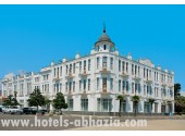 Гостиница «Рица» Территория, внешний вид