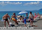 Отель «Самшит»,  пляж